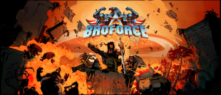 Broforce - Key Art