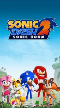 Sonic Dash 2 - Announcement - 01
