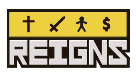 Reigns - Logo_Yellow
