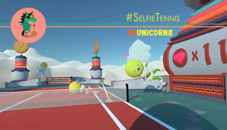 SelfieTennis - Key Art