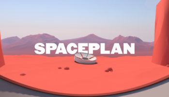 SPACEPLAN - Key Art