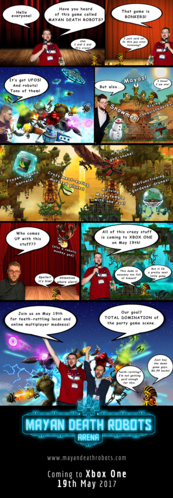 Review Comic -Xbox announcement