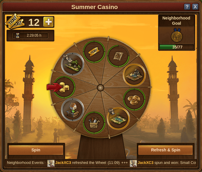 Summer casino forge