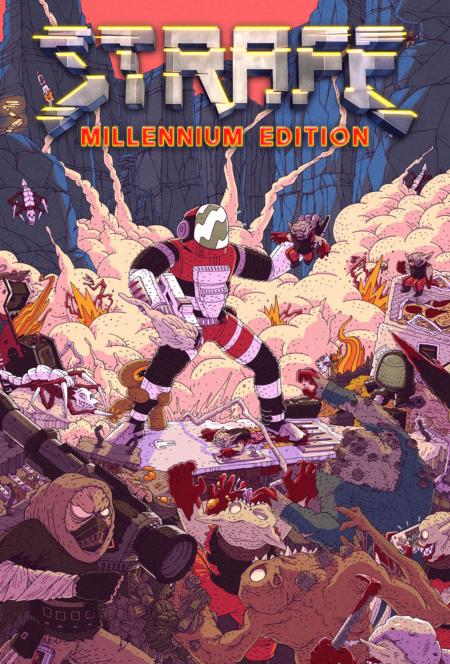 STRAFE_Millennium Edition - Key Art