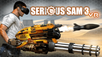 Serious Sam 3 VR - Key Art