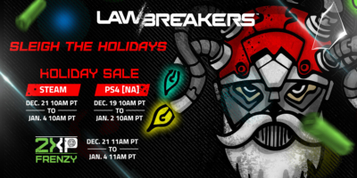 LawBreakers Holiday Sale Event