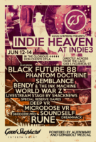 Indie Heaven flyer