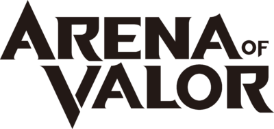Arena of Valor Logo - Black