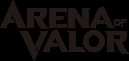 Arena of Valor Logo - Black