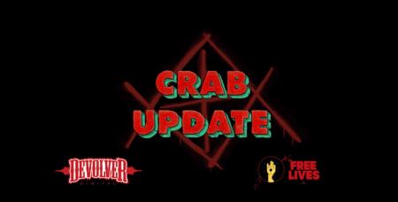 GORN Crab update screen