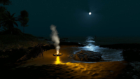 CoastalNightScene