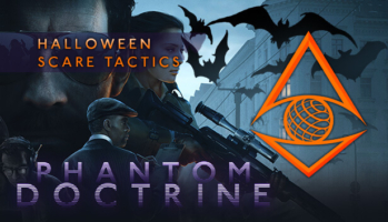 Phantom Doctrine Halloween Scare Tactics DLC Key Art