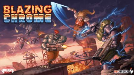 Blazing Chrome - key art 3