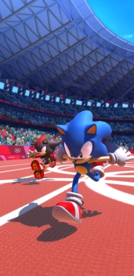 Sonic at the Olympic Games - Sonic