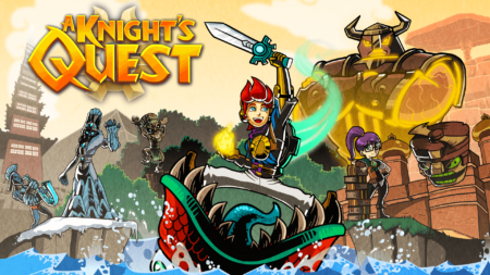 A Knight's Quest - Key Art