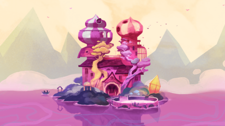 Tangle Tower Key Art Scenery