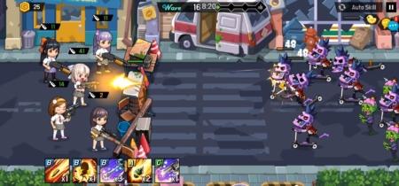 Girl's War Z Screenshot