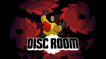 DISC ROOM - Key Art