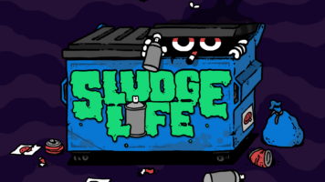 SLUDGE LIFE - Key Art