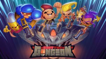 Exit the Gungeon - Key Art