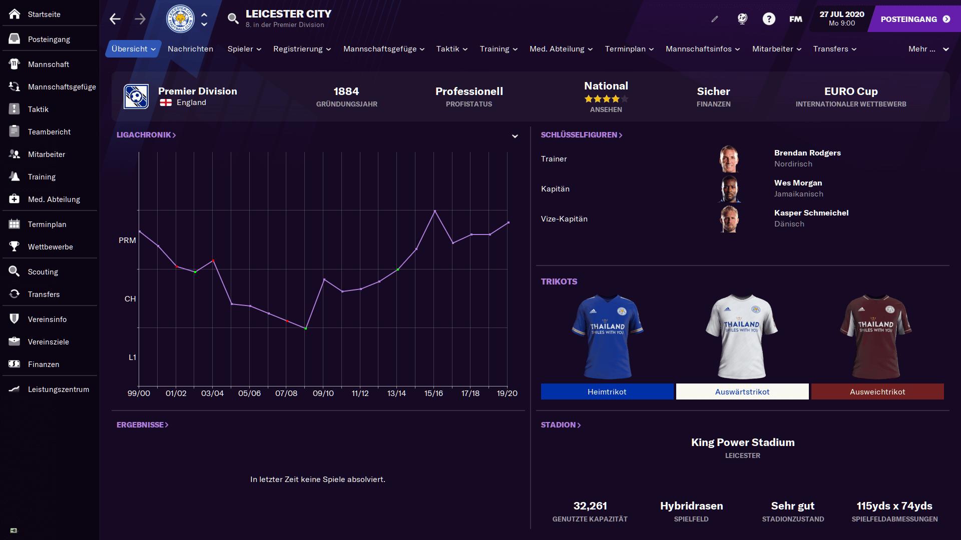 Football Manager 2021 Beste Taktik